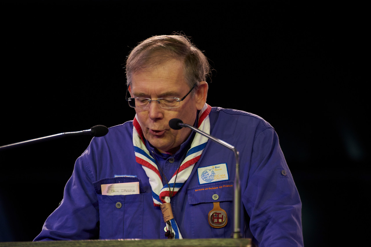 Michel Muller, candidat au CA