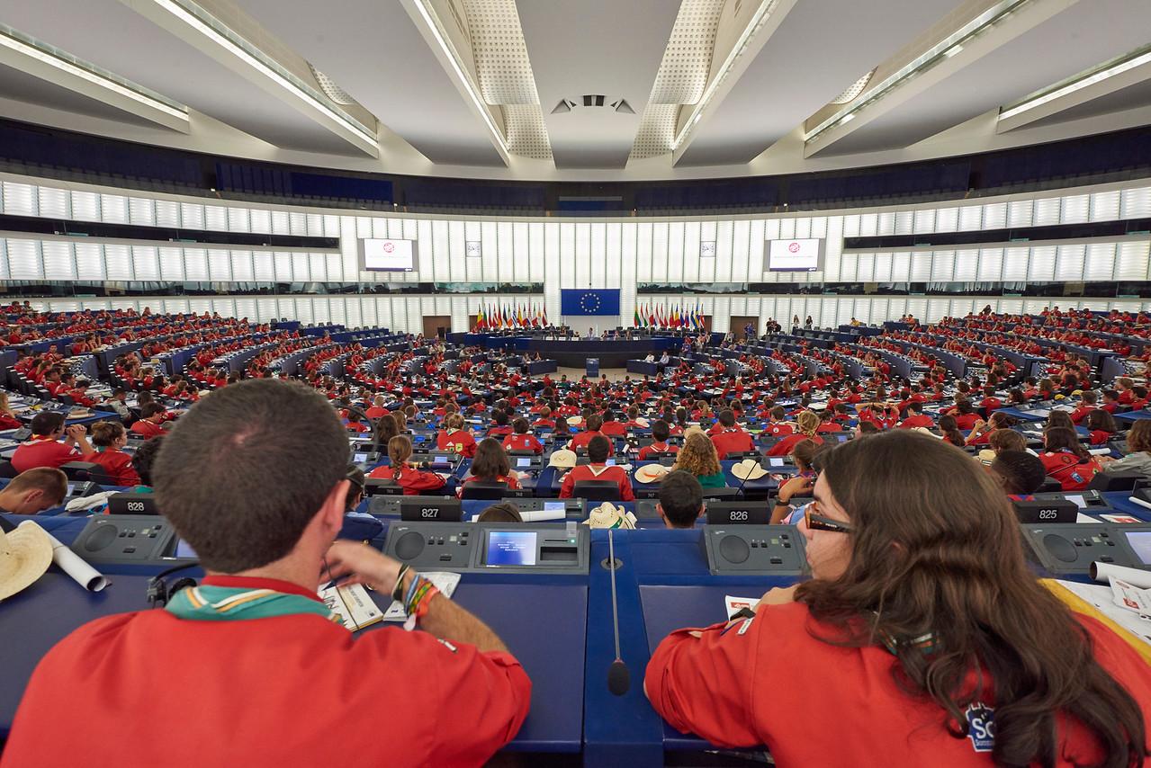 Pionniers et caravelles au Parlement Européen