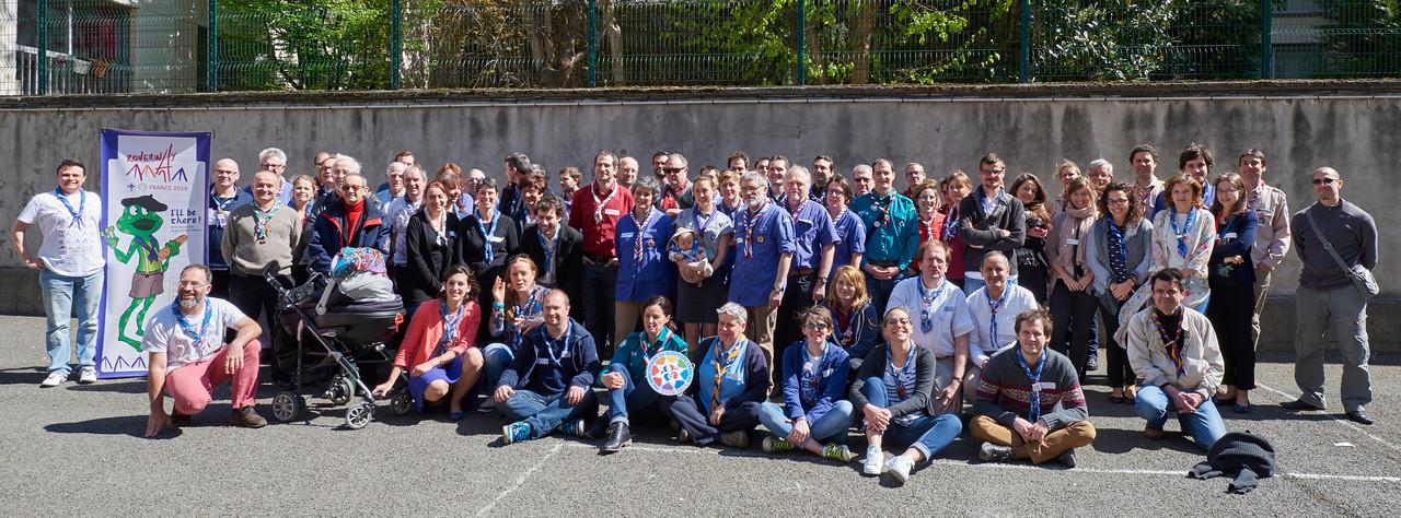 Scoutisme Français et Roverway