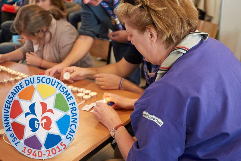 Le Scoutisme Français a 75 ans