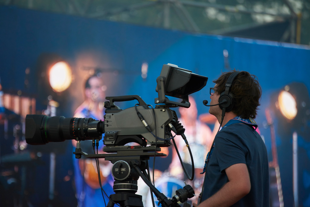 Caméra de scène