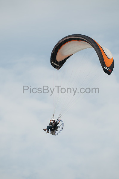Eric Cote  Powered Paragliding over Flagler Beach, FL  on Apr. 20, 2016