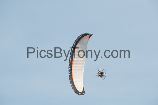 Eric Cote Powered Paragliding over Flagler Beach, FL on Jul. 22, 2016