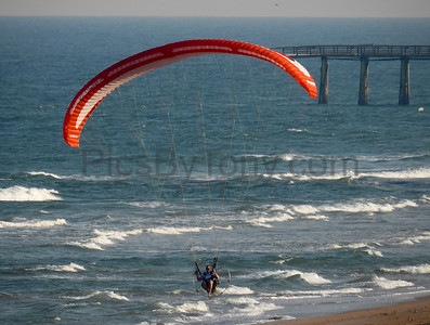 Matt Langenderfer Power Paragliding over Flagler Beach, FL on  Nov 18, 2016