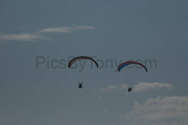 Eric Cote and Friend Powered Paragliding over Flagler Beach, FL on Nov. 24, 2016
