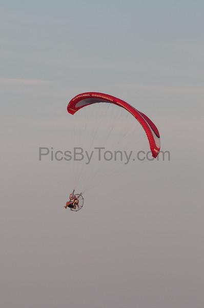 Matt Langenderfer Power Paragliding over Flagler Beach, FL on  Sep. 6,, 2016