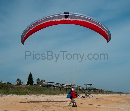 Training Session for Paragliding  in  Flagler Beach, FL on Apr. 30, 2016