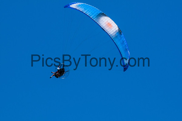 Powered Paragliding over Flagler Beach, FL on August, 4, 2018
