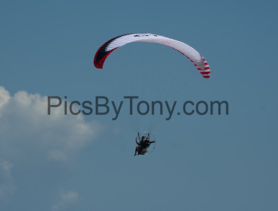 Powered Paragliding over Flagler Beach, FL on August  5, 2018