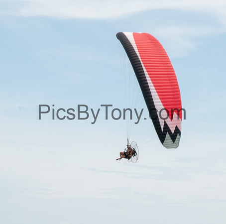 Powered Paragliding over Flagler Beach, FL on August  26, 2018