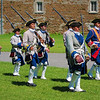 French 18th military demonstrations at Musée Stewart