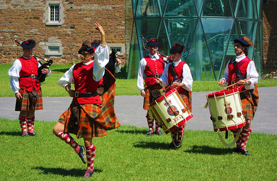 Scottish dance at Musée Stewart