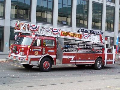 Beverly, MA Holiday Parade 11/24/2007
