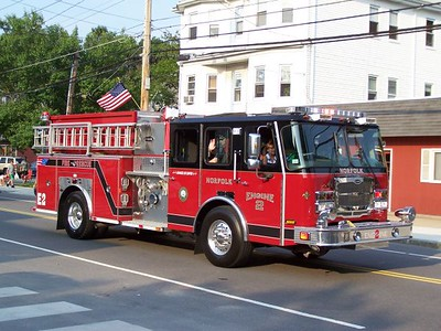 Walpole, MA Night Before the 4th Parade 7/3/2008