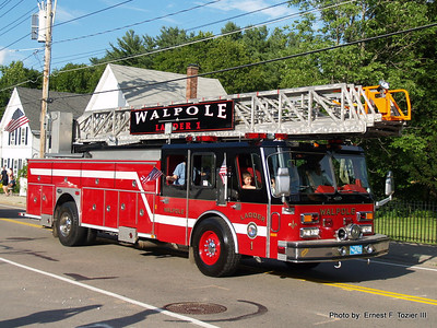 Walpole, MA Night Before the 4th Parade 7/3/2013