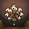 October 23, 2016<br /> <br /> SOUTHERN SERENITY<br /> <br /> This gorgeous ceiling fan/light was a huge hit with viewers - love it!<br /> <br /> NOTE: This house was voted # 1 by the Judges opening night. My hubby and I were unaware of that until viewing the VESTA Home Show's Facebook page after our tour.  It was also the only home that was for sale during the show. This was certainly our favorite home!!! My hubby and I agreed that this home has the best kitchen (love, love, love the copper sink and counter top). We also absolutely love everything about the master bathroom. A fortunate buyer will end up with this fabulous home.<br /> <br /> Southern Serenity Homes has created a timeless treasure for the buyer of the Vesta home located in Ainsley Manor in Hickory Withe, TN. This magnificent home hosts approximately 4,587 heated sq./ft., with a 3 car garage. Offering 4 bedrooms, 4.5 baths, a wide foyer, family room, dining room, kitchen, mixed-use room, a l large screened in porch with outdoor wood burning fireplace, large interior wood burning fireplace and an outdoor kitchen. Downstairs accommodates the master bedroom with an in-law suite on opposite side of home with an adjacent garage. The amenities and special features are endless.<br /> <br /> Five-inch white oak real nail down., a Thermador commercial oven, built-in Thermador commercial oven, built-in Thermador refrigerator, wine cooler, recessed shower doors. All other doors allow for wheelchair accessibility. The media room is equipped with 5.1 & 7.1 surround sound system, built-in wet bar, and is wired for a projector. Luxurious lighting package. Sherwin Williams paint throughout. HardiePlank on exterior of home, on facia, freeze and soffits. Custom cabinetry, Three 16 SEER Carrier units with 7 day programmable thermostats. Top of the line security system. Insulated garage doors. Floored walk-in attic. Hammered copper kitchen sink. Dog wash in laundry room. Sherwin Williams 20-year limited warranty exterior 