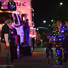 Floats roll Saturday, Oct. 22, 2016, through the streets of downtown Chico, California, during the Parade of Lights. (Dan Reidel -- Enteprise-Record)