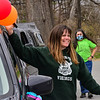 KRISTOPHER RADDER — BRATTLEBORO REFORMER<br /> A group of teachers and first responders hold a parade through Rockingham to bring cheer to the community on Friday, April 24, 2020.