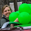 KRISTOPHER RADDER — BRATTLEBORO REFORMER<br /> Caitlyn Coleman, a second-grade teacher at Westminster Center School, in Westminster, Vt., puts balloons on her vehicle on Friday, April 24, 2020.