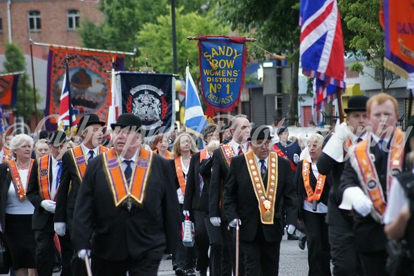 2nd July Sandy Row