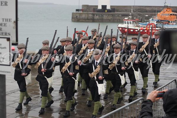 Donaghadee Gun Runners Parade