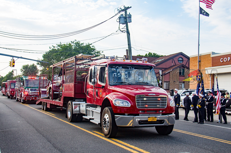 Suffolk County - Copiague F D  90th Anniversary Parade 7-14-18-024