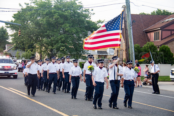 Suffolk County - Copiague F D  90th Anniversary Parade 7-14-18-023
