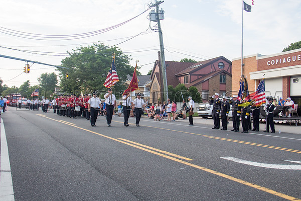 Suffolk County - Copiague F D  90th Anniversary Parade 7-14-18-019