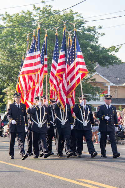 Suffolk County - Copiague F D  90th Anniversary Parade 7-14-18-005