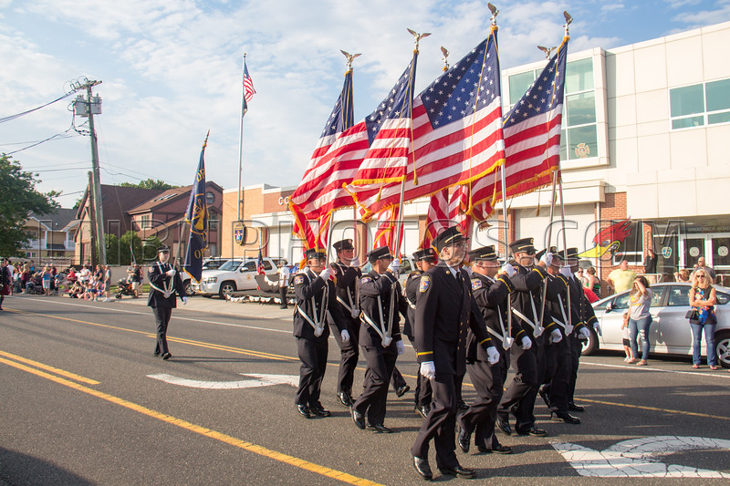 Suffolk County - Copiague F D  90th Anniversary Parade 7-14-18-008