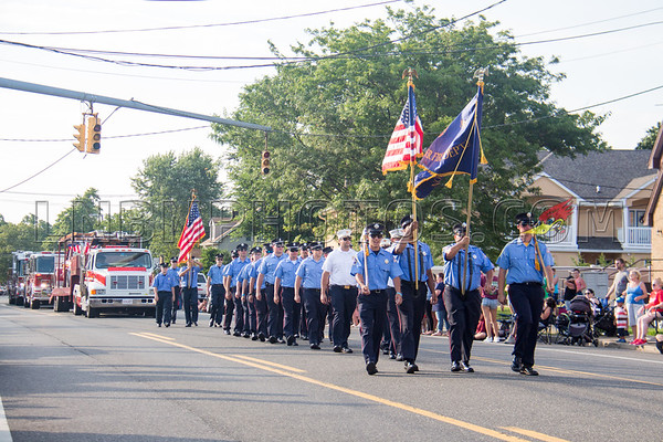 Suffolk County - Copiague F D  90th Anniversary Parade 7-14-18-012