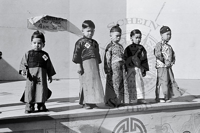 Chinese young Boys in costume