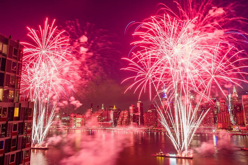 APTOPIX July Fourth New York