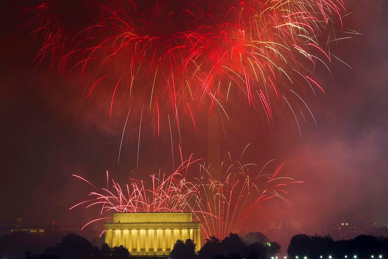July Fourth Washington
