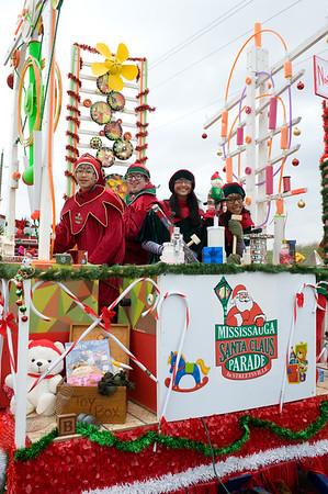 2014 Mississauga Santa Parade