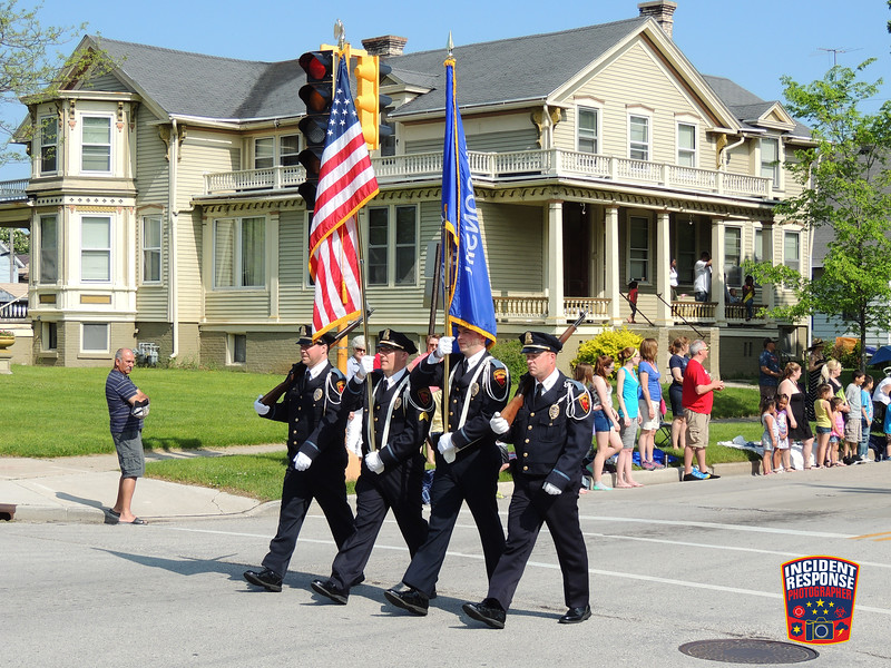 The annual Sheboygan Memorial Day Parade was held in Sheboygan, Wisconsin on Monday, May 30, 2016. Photo by Asher Heimermann/Incident Response.