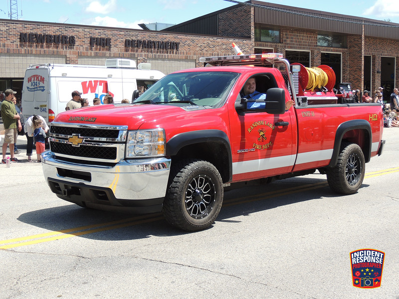 The annual Newburg Firemen's Parade was held in Newburg, Wisconsin on Sunday, June 5, 2016. Photo by Asher Heimermann/Incident Response.