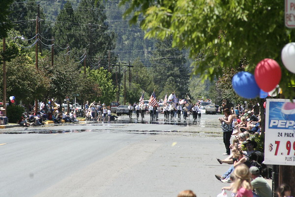 2010 4th Parade in Wallowa, OR