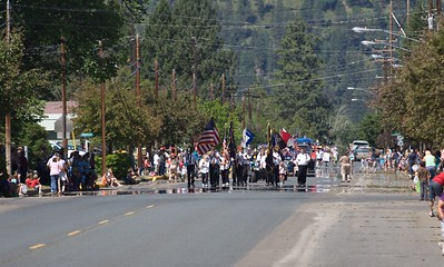 4th July Parades, Wallowa, Oregon