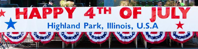 Highland Park, IL, 7/4/11