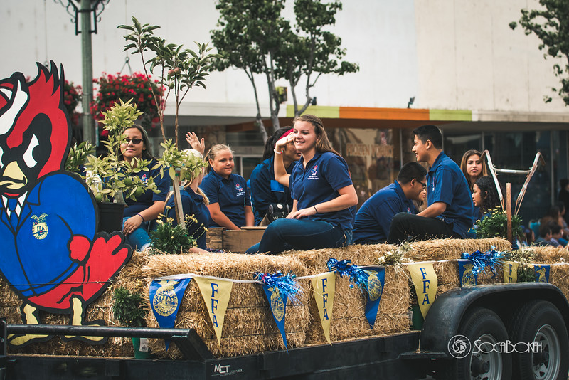 Santa Paula FFA, Future Farmers of America Santa Paula Labor Day Parade pictures