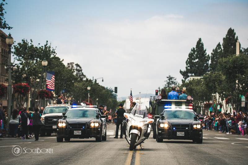 SPPD Santa Paula Police department at the Santa Paula Labor day parade. Santa Paula Labor Day Parade pictures
