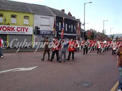UVF Parade East Belfast