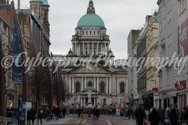 Belfast St Patricks Day Parade 2013