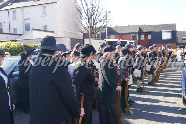 Original Ulster Volunteer Force Centenary Parade.