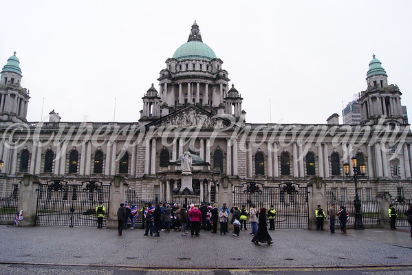 City Hall Protest 19.01.13