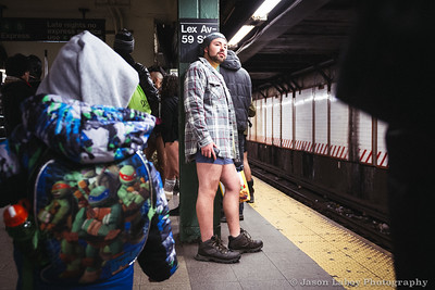 No Pants Day New York City, NYC 2015