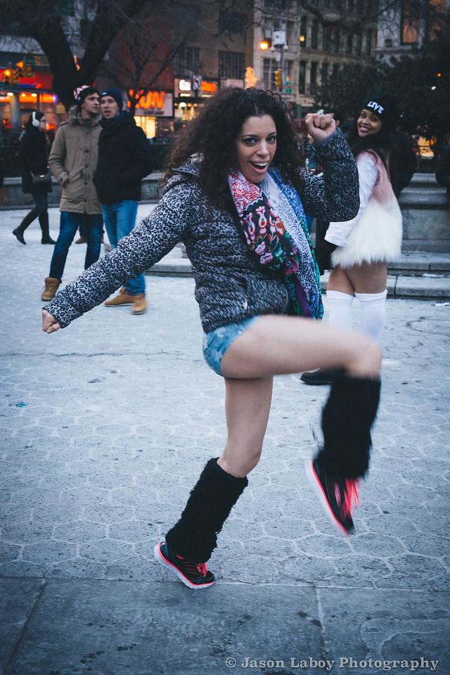 No Pants Day New York City, NYC 2015