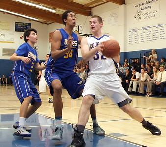 Boys Basketball vs. Hamilton  1/7/2015