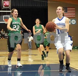 Girls Basketball vs. Princeton  2/12/2015